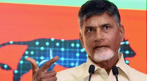 Andhra Cm Naidu Hints At Quota For Upper Caste Poor The Indian Express