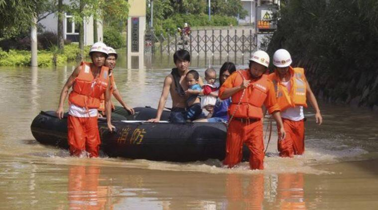 China, China rains, Guangdong province, China city heaviest rains, heavy rains in China, world news