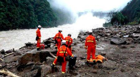 Thirty killed in two landslides in China's Guizhou province