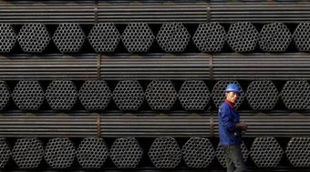 china steel, steel, steel futures, iron ore futures, china securities, rebar, china steel oversupply, chines steel output, world news,