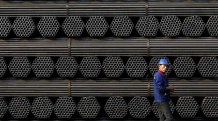 china steel, steel, steel futures, iron ore futures, china securities, rebar, chines steel output, world news