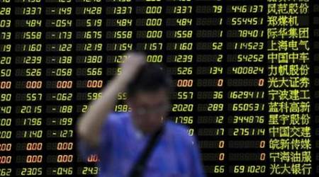 China stocks lower, investors cautious ahead of May credit and economicdata