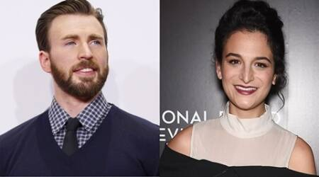 Chris Evans, Jenny Slate's chemistry apparent on 'Gifted' set?