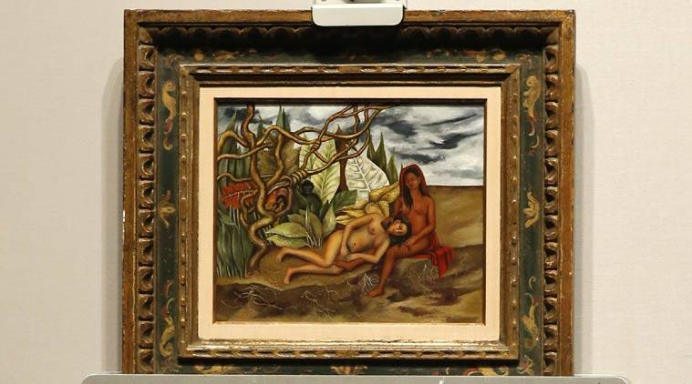 Frida Kahlo, painting, Frida Kahlo painting, Frida Kahlo painting auction, painting auction, Christie, Two Nudes in the Forest, The Earth Itself, arts news, art and culture news, lifestyle news