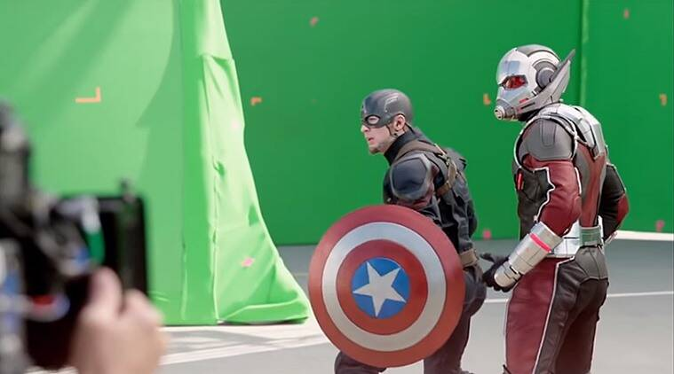 Captain America: Civil War, making of Captain America: Civil War, Captain America: Civil War without CGI, Captain America: Civil War: stunts, shooting of Captain America: Civil War