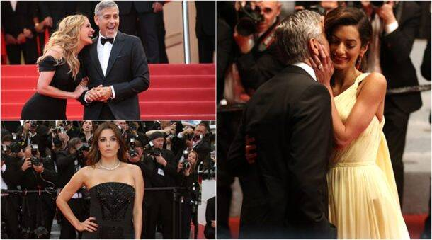 cannes, cannes 2016, cannes film festival, george clooney, amla, julia roberts, photo call, jodie foster, 69th cannes, cannes film fest, cannes film festival 2016, george clooney amal, clooney amal pics, cannes day 2 pics, 69th Cannes Film Festival, Money Monster, Eva Longoria, Jessica Chastain, Susan Sarandon, Naomi Watts, Julianne Moore, Dominic West, Jack O'Connell, Caitriona Balfe, Vanessa Redgrave, Jim Ivory, entertainment