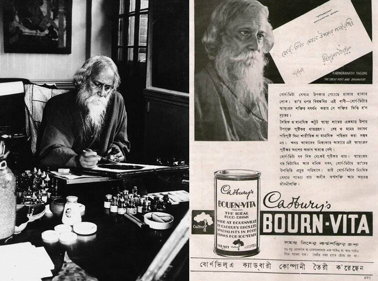 As a routine, lunch for Tagore was Bengali while dinner was usually western style with soups and fish, meats and puddings. (Photo: oldindianphotos.in)