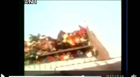 WATCH: 26 injured as slab of building collapses in Kanpur