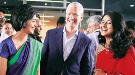 Asked about Trump, Tim Cook says diversity our basic value