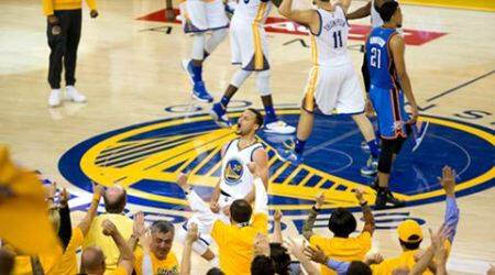 Golden State Warriors win Western Conference finals in Game 7 against Oklahoma CityThunder