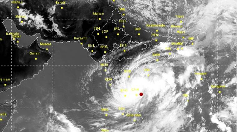 Cyclone Gaja expected to hit coastal Tamilnadu & AP
