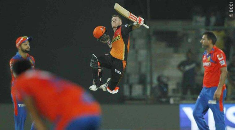 SRH ride on David Warner's 93*, reach IPL 2016 final