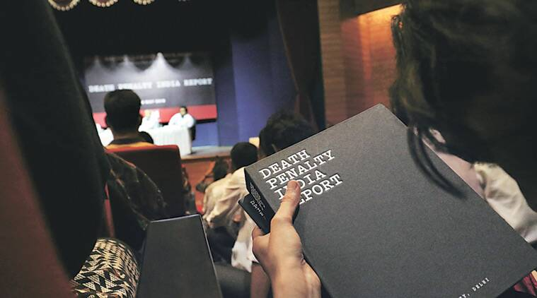 The 'Death Penalty India Report' was released in New Delhi on Friday. Praveen Khanna