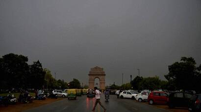 Delhi rain: Temperature drops in city, much-awaited respite for residents
