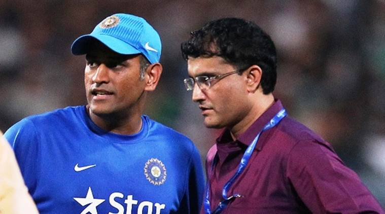 Image result for sourav ganguly dhoni