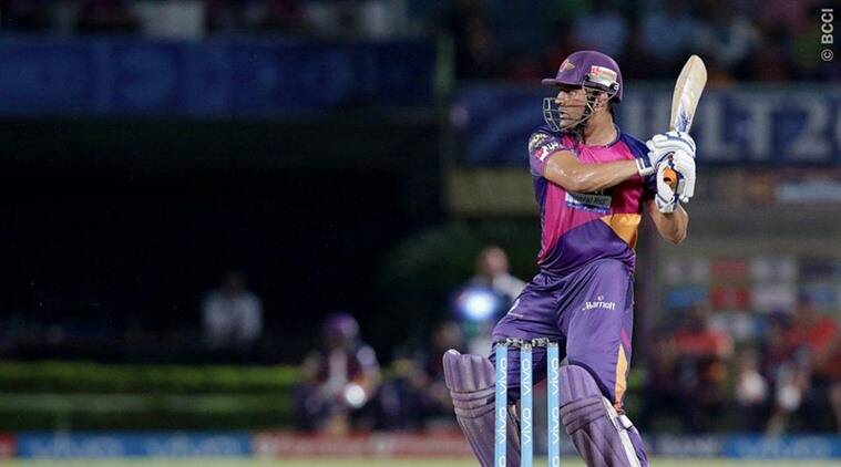 MS Dhoni, Dhoni, six, MS Dhoni six, RPS vs KXIP, Punjab Pune, Dhoni India, IPL news, IPL 2016, IPL matches, IPL updates, sports news, sports, cricket news, Cricket