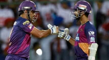 DD vs RPS: Rahane, bowlers script much needed win