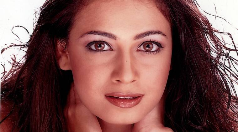 Film star Dia Mirza in film REHNAA HAI TERE DIL MEIN. Express archive photo