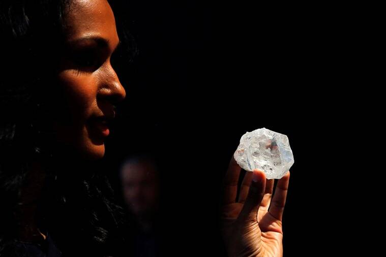 The gigantic gem Lesedi la Rona could have the potential to yield the largest, top-quality diamond ever seen once it has been cut and polished. (Photo: Reuters)
