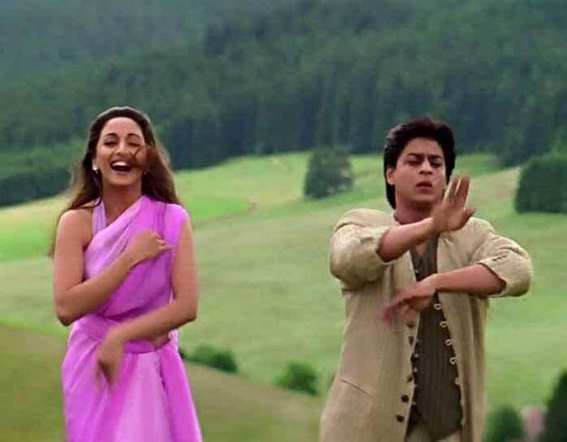 Madhuri Dixit in Dil Toh Pagal Hai with Shah Rukh Khan