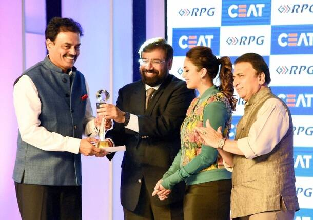Dilip Vengaskar, Vengaskar, Vengaskar lifetime award, CEAT Cricket awards, Cricket awards, Cricket