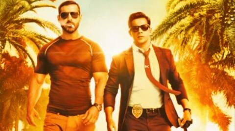 John Abraham, Dishoom, Varun Dhawan, Dishoom's first poster, Dishoom poster, John Abraham Varun Dhawan, john varun film, John Abraham dishoom, Varun Dhawan dishoom, entertainment news