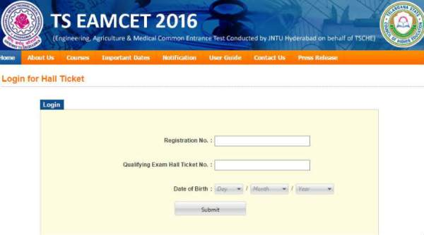 TS EAMCET, TS EAMCET 2016, TS EAMCET hall ticket, TS EAMCET 2016 admit card, tseamcet.in, TS EAMCET admit card, telangana eamcet admit card 2016, ts eamcet 2016 hall ticket download, ts eamcet 2016 hall ticket release date, ts eamcet 2016 hall ticket download date