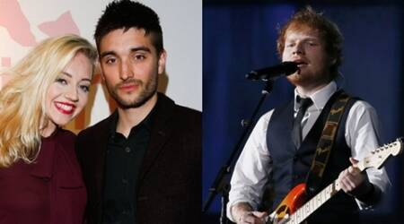 Tom Parker, Tom Parker wedding, Tom Parker Kelsey Hardwick, Kelsey Hardwick, Ed Sheeran, Entertainment news