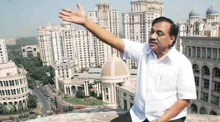 Eknath Khadse, maharashtra revenue and agriculture minister, eknath khadse controversy, mantralaya bribery scandal, khadse land deals, eknath khadse corruption case, bribery scandal, khadse bribery scandal, dawood ibrahim, Anti-Corruption Bureau, mumbai police, indian express news, mumbai news
