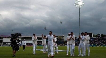 Eng vs SL: On Day 2, James Anderson and Stuart Broad swing it England's way