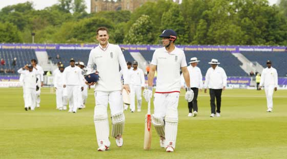 Alastair Cook leads England to series win over Sri Lanka