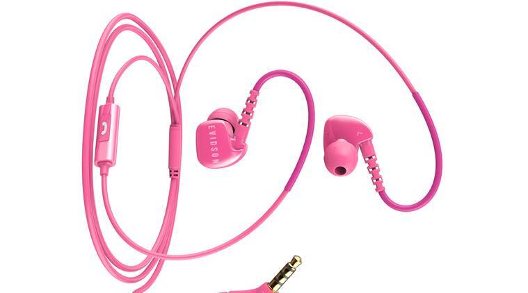 Evidson Audio's W6 Sport earphones feature Y-shaped cabling and are come in White, Black and Pink colour options