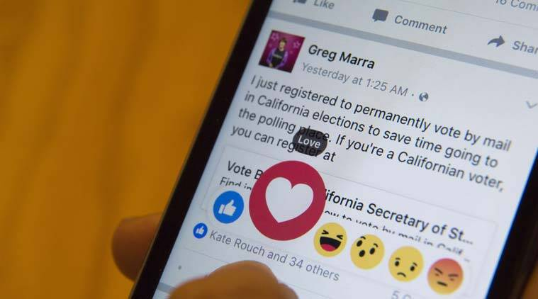 Facebook, Mothers Day, Facebook reactions, new Flower Reaction, Facebook flower emoji, Facebook Mother's Day emoji, technology, technology news