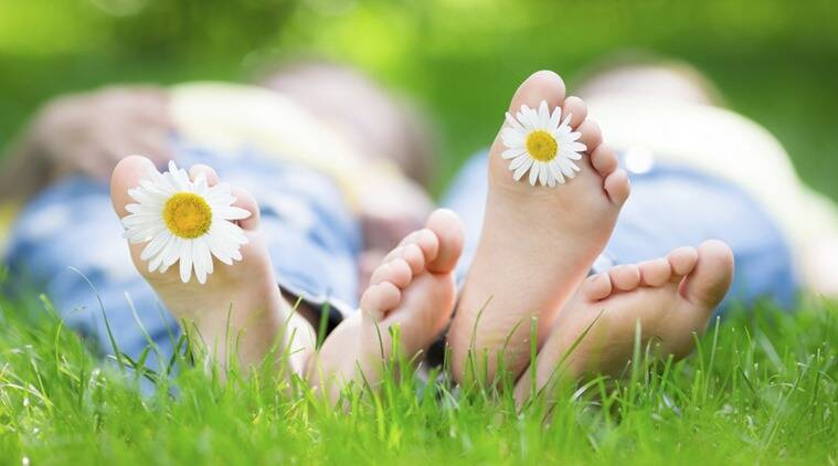 Go barefoot as often as possible to allow your feet to breathe, and wear sandals and open toed shoes. (Photo: Thinkstock)