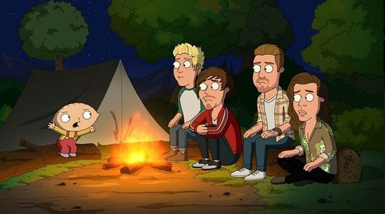 One Direction, Family Guy, One Direction Family Guy, Entertainment news