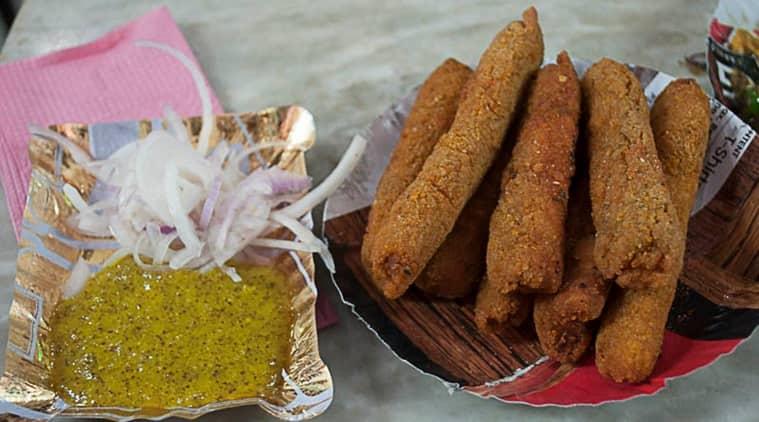 Fish fingers with kasundi. (Photo: Indrajit Lahiri)