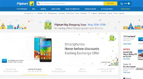 Flipkart, Flipkart Big Shopping Days, Flipkart Big Shopping Sale, Flipkart Le 1s offer, Flipkart Apple iPhone offer, Apple iPhone Flipkart, Flipkart Laptop discount, Flipkart Lenovo Vibe K5 Plus discount Flipkart smartphone offer, Flipkart offer, technology, technology news