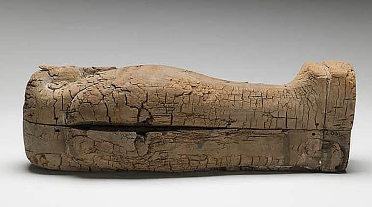 Egyptian mummy, ancient foetus, foetus, mummified foetus, Ancient Egyptians, Fitzwilliam Museum