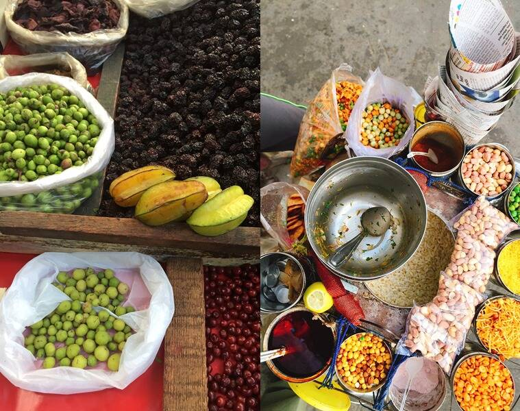 Sour fruits and berries are rich in anti-oxidants (L), there are hundreds of versions of bhel across the country. (Photo: Express FoodIE)