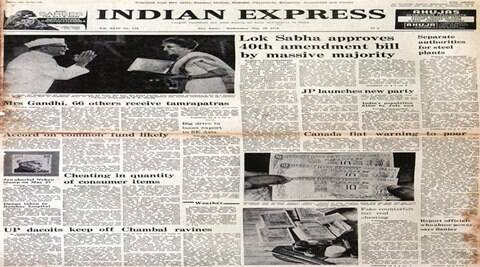 Jayaprakash Narayan, congress, Bharatiya Lok Dal, Jana Sangh, lok sabha, indian express newspaper, 40 years old newspaper, Amendment Bill, sanjay gandhi, indian express editorial