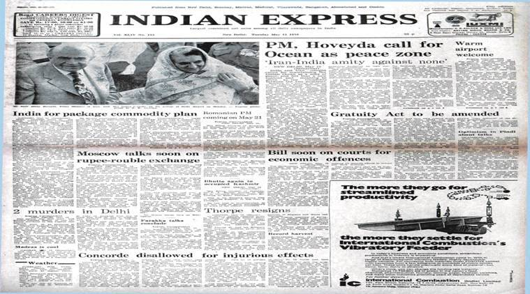 indian express news paper, indian iran dialogue, india, iran, indian ocean, india bangladesh talk, concorde flights, indo pak talks