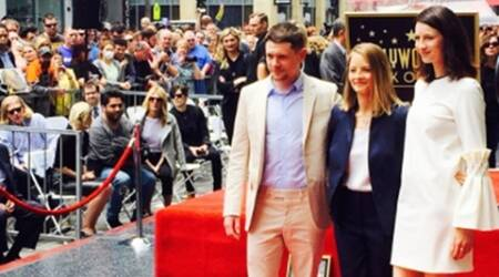 Jodie Foster honoured at Walk of Fame ceremony
