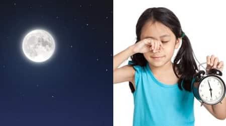 Full moon can shorten children's sleep alittle