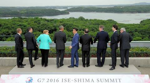 g7, g7 summit, g7 japan summit, japan g7 summit, group of seven, Shinzo Abe, g7 growth, g7 summit north korea, g7 leaders, g7 summit updates, world news, latest news