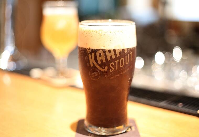 Gateway Brewing's Kaapi Stout is always sold out, but there's always White Zen.