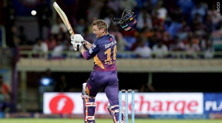 George Bailey, George Bailey hit bouncer, George Bailey bouncer, George Bailey Coulter Nile, Bailey Bouncer, RPS vs DD, DD vs Pune, Pune vs DD, Cricket News, IPL 2016, Cricket