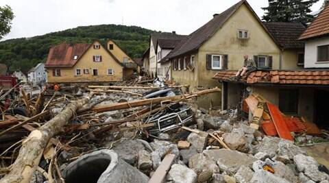 germany flood, germany storm, germany flood deaths, germany flood damage, floods in germany, world news