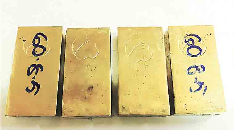 gold bar, government to raise 280 crore from gold bonds, government gold bond, indian government sovereign gold bond scheme, sovereign gold bond scheme, indian express, business news, india news