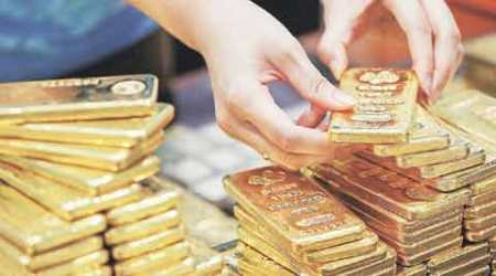 Gold prices shoot up by Rs 118 in futures trade