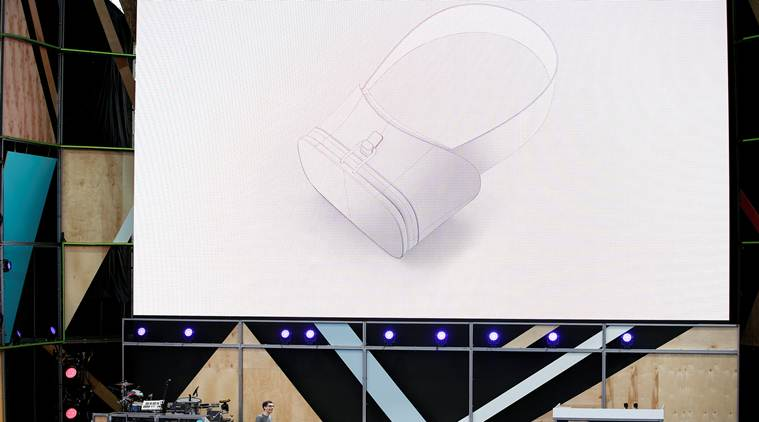 Google's Clay Bavor details company's Daydream VR vision at I/O 2016 (Source: Reuters)